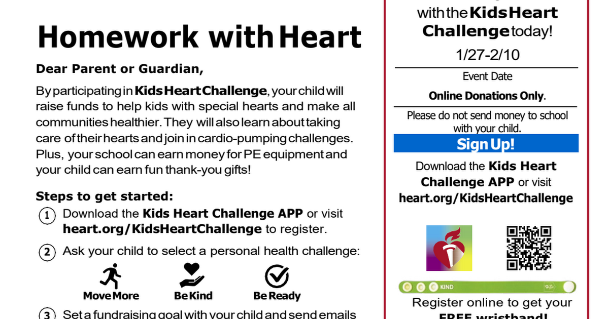 Homework with Heart Kids Heart Challenge.pdf
