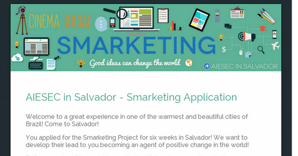 AIESEC in Salvador - Smarketing Application