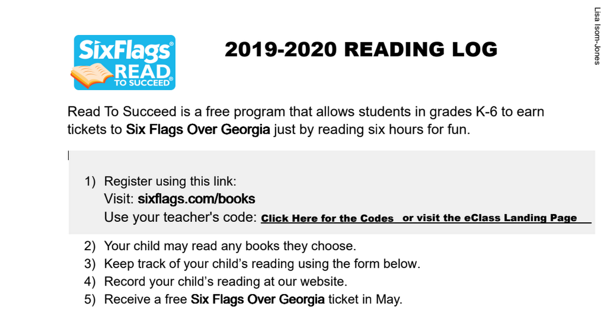 Six Flags Read to Succeed ReadingLog.pdf
