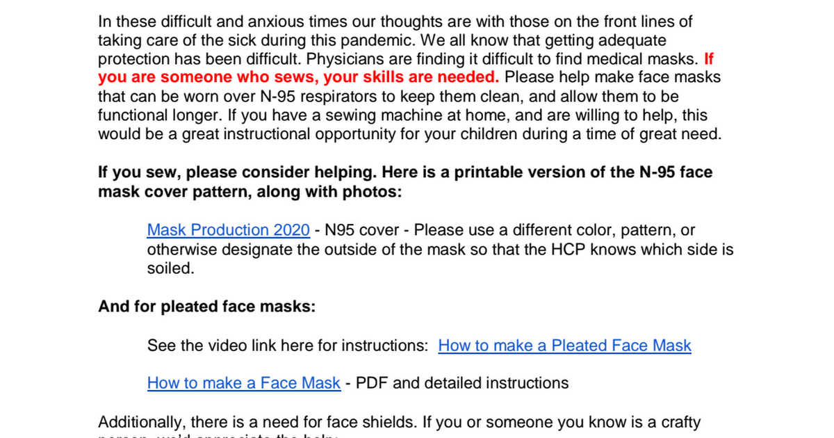 Community Outreach - Facemasks.pdf