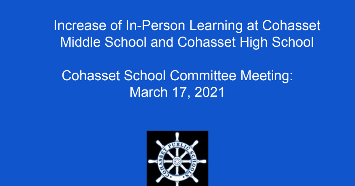 Increase in In-Person Learning at CMS and CHS.pdf