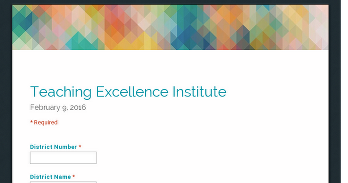 Teaching Excellence Institute