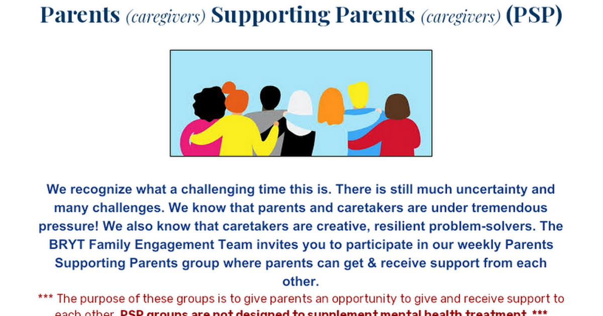 FREE DAILY SUPPORT GROUPS