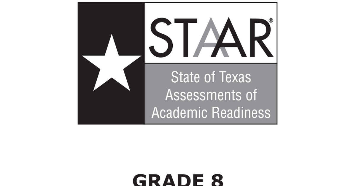 STAAR Reading 8th Grade