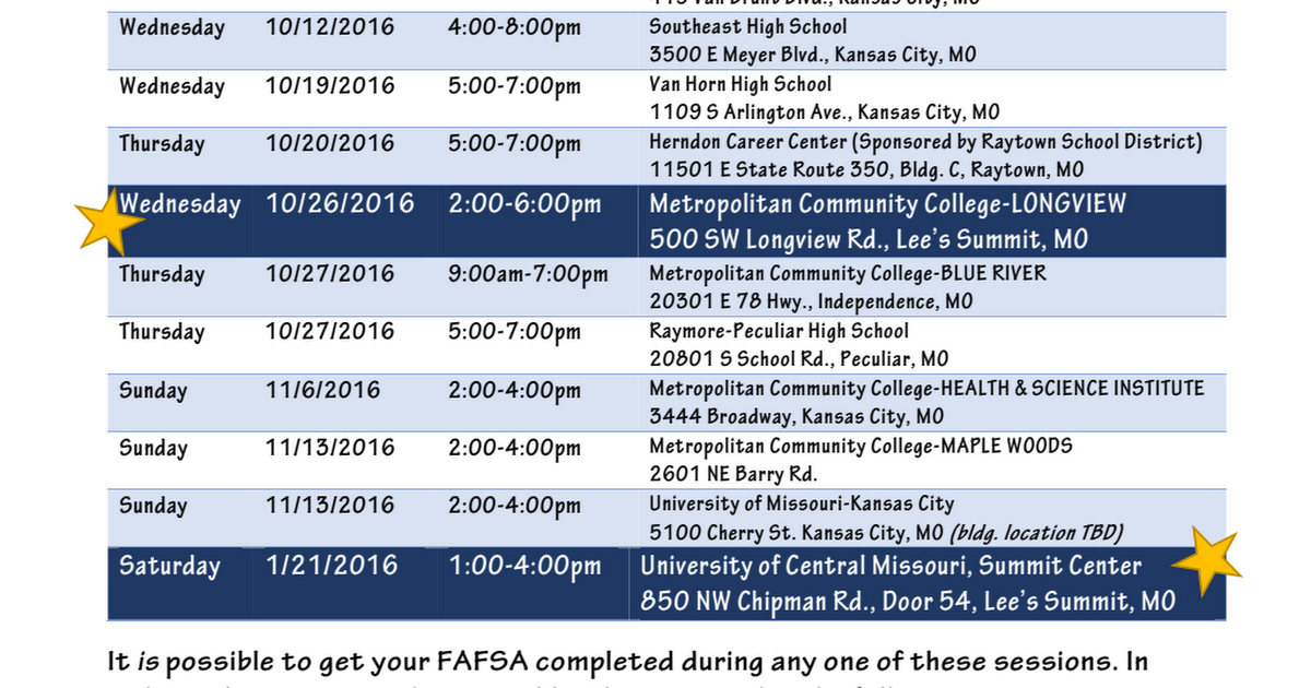 FAFSA Frenzy Sites 2016-2017 NO REVERSE.pdf