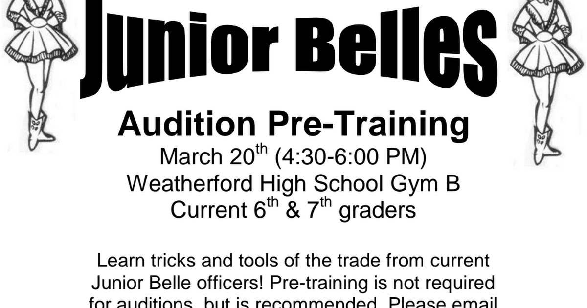 Junior Belle Pre-Training.pdf