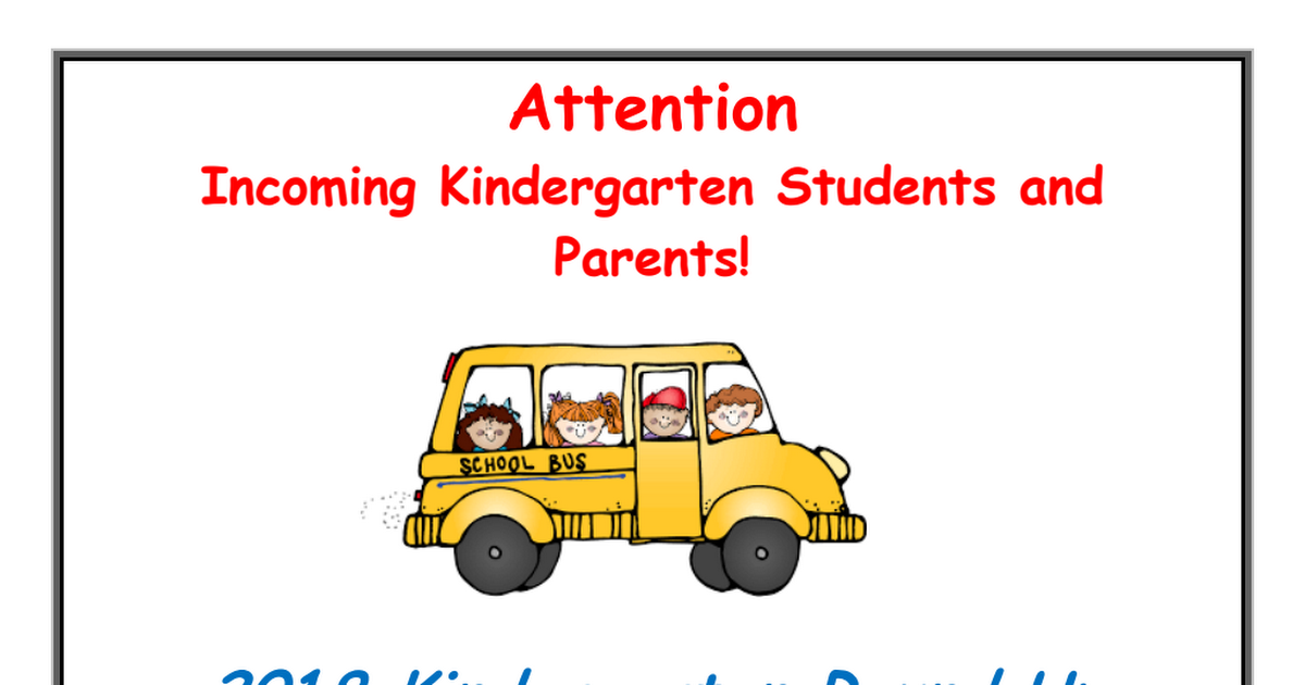 2018-19 Kindergarten Information Flyer w Discrim Pol.pdf