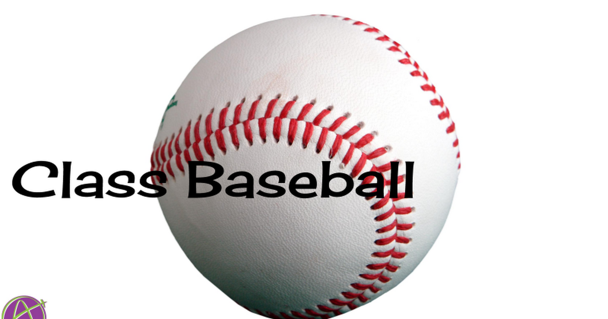 Copy of Class Baseball Template