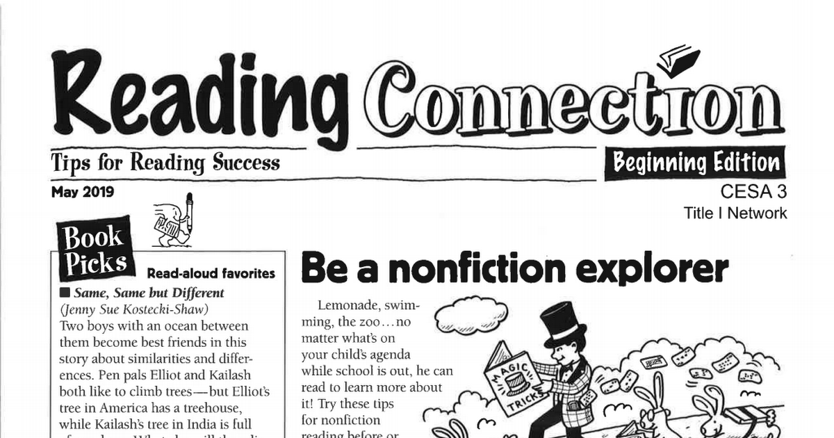 Reading Connection Beginning May.pdf