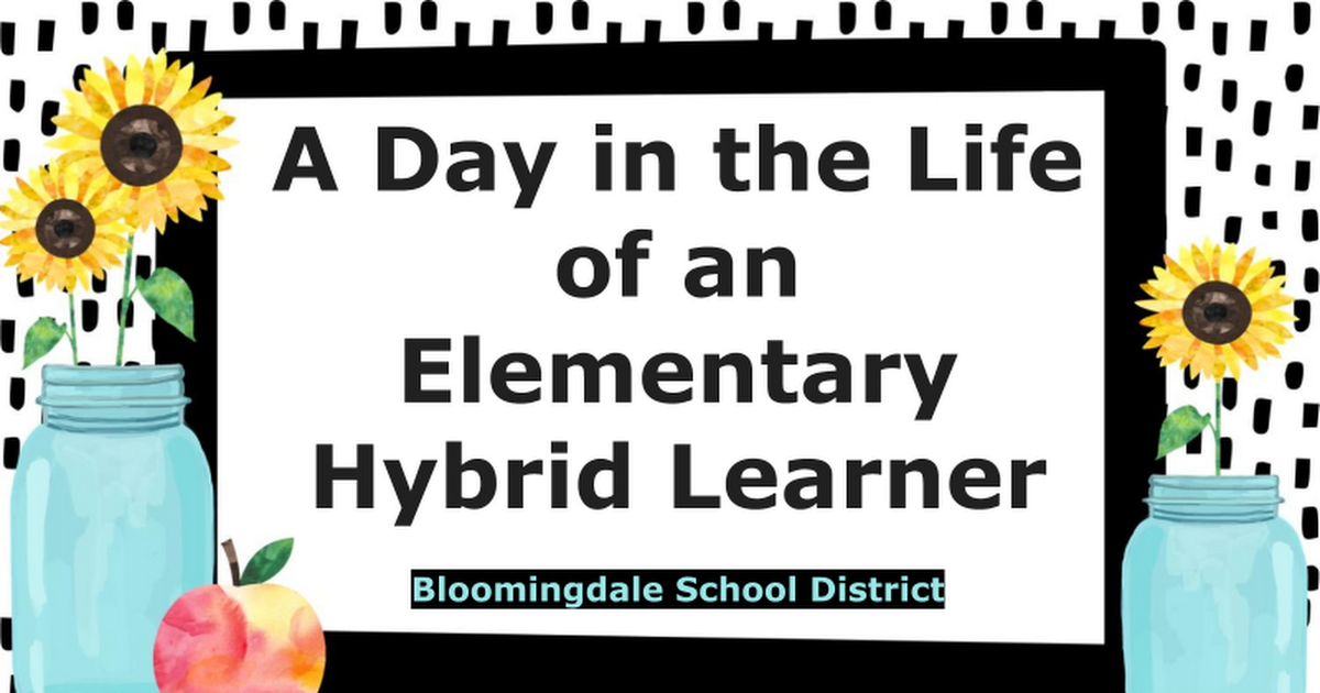 A Day in the Life of an Elementary Hybrid Learner
