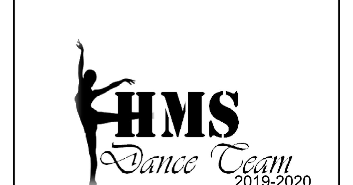 HMS Dance Team Audition Packet OFFICIAL.docx