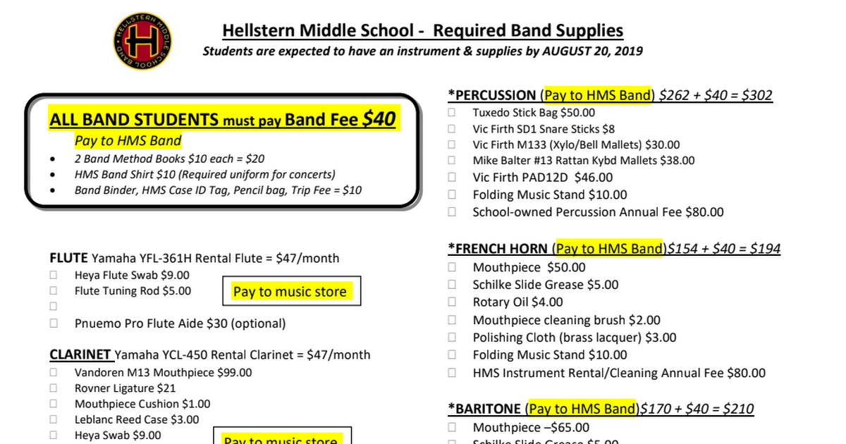 2019-20 HMS Band Supplies.pdf
