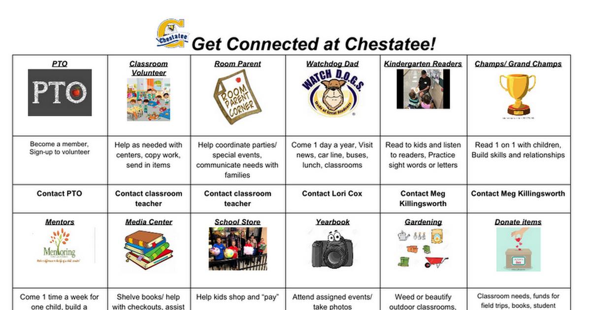 Get Connected at Chestatee