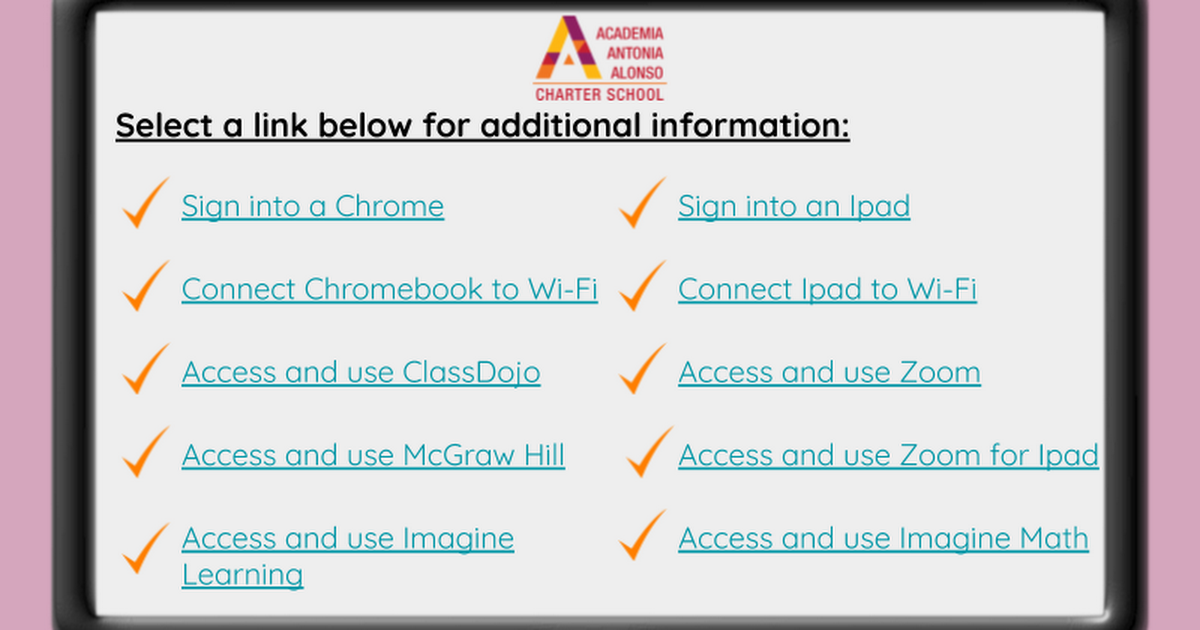 AAA Access to Remote Learning