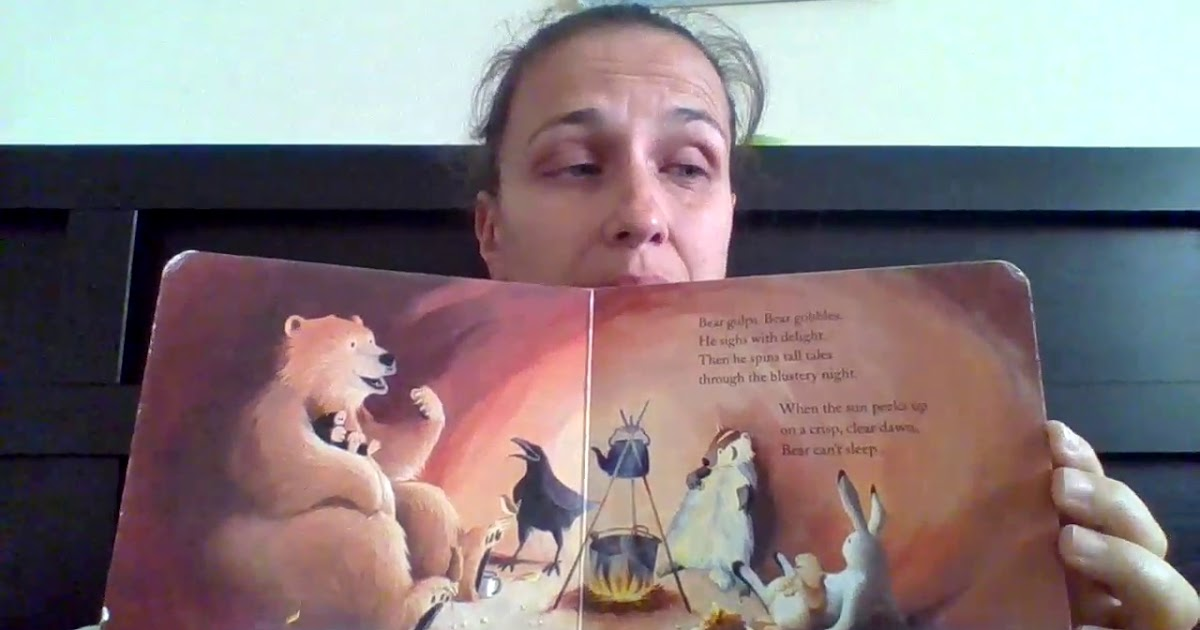 Mrs.Kaija reads Bear Snores On.mkv