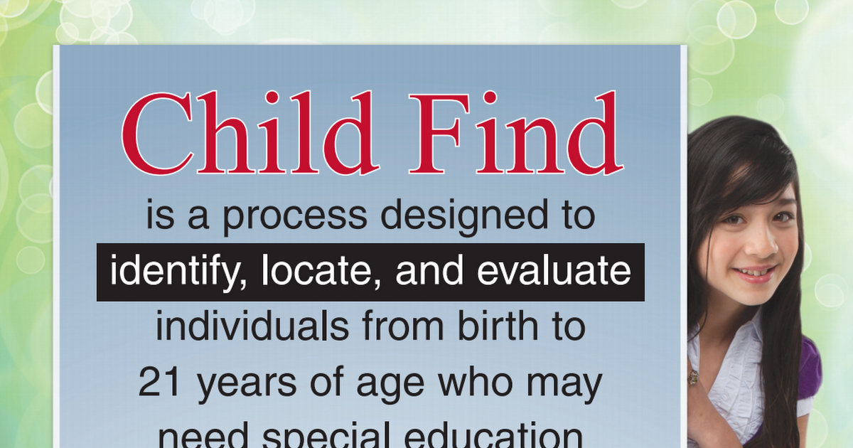 Child Find Flyer general.pdf