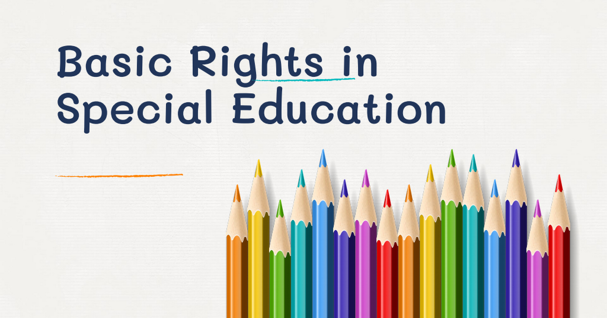 Basic Rights in Special Education.pdf