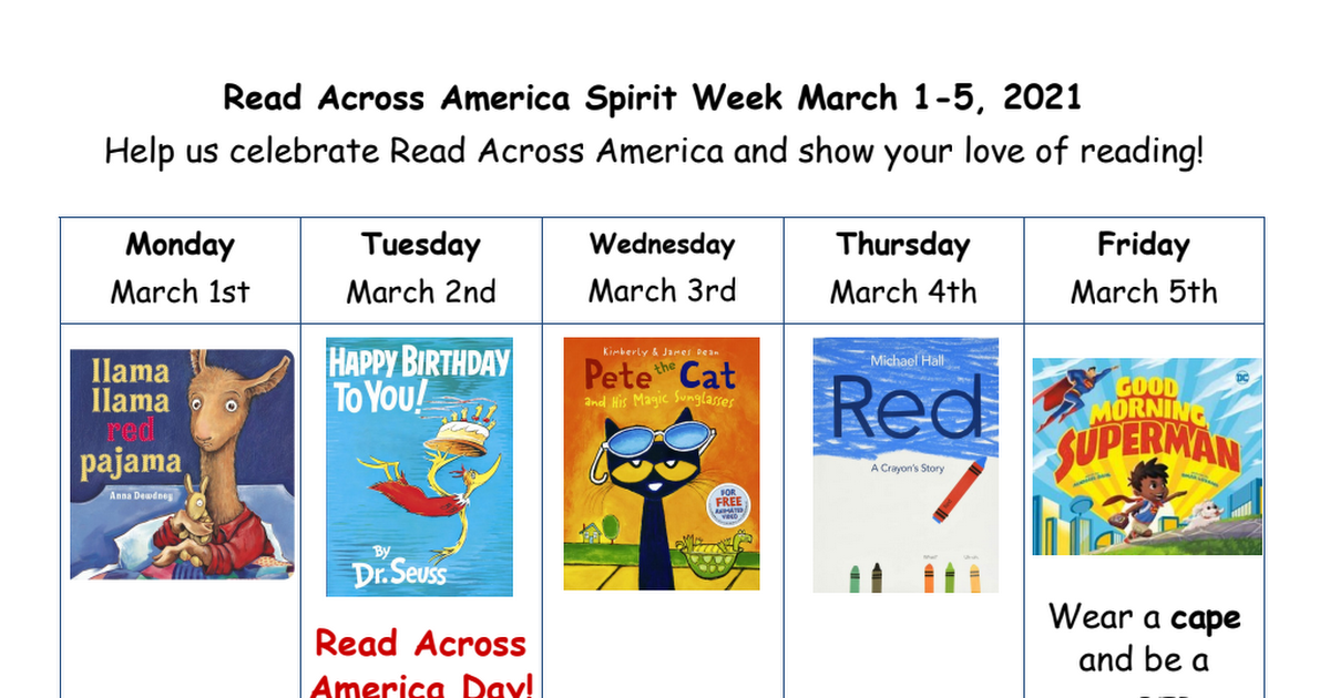 Read Across America Spirit Week 2021.pdf