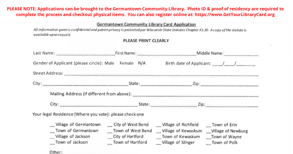 2020 Fall - Library Card Application.pdf