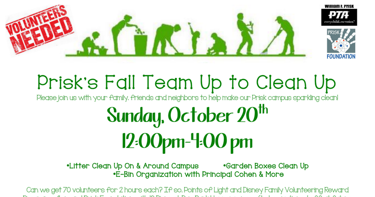 Prisk's Fall Team Up to Clean Up.pdf
