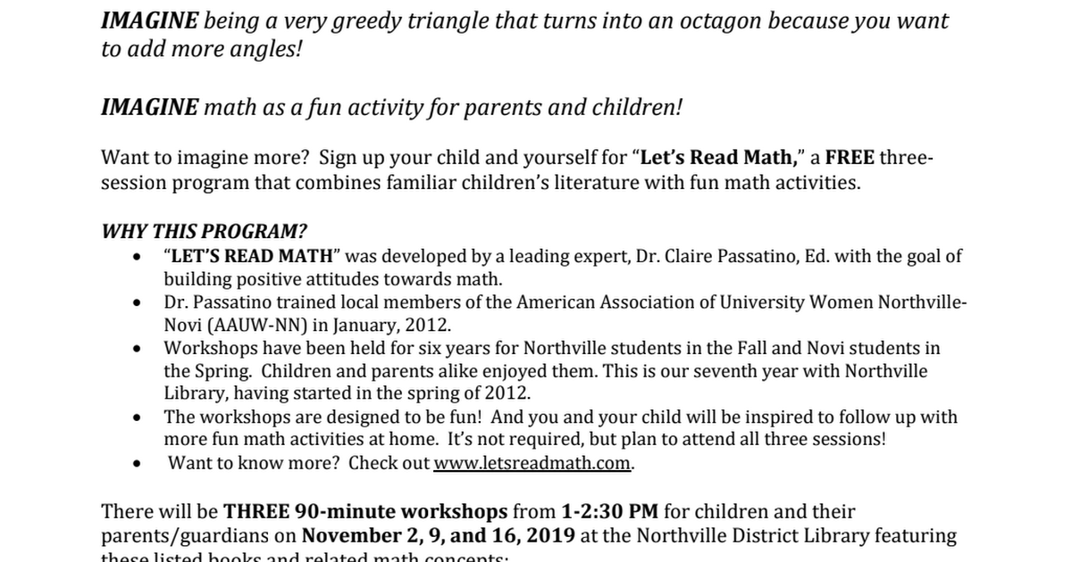 Let's Read Math- Northville fall LRM 2019 Flyer and Registration.pdf