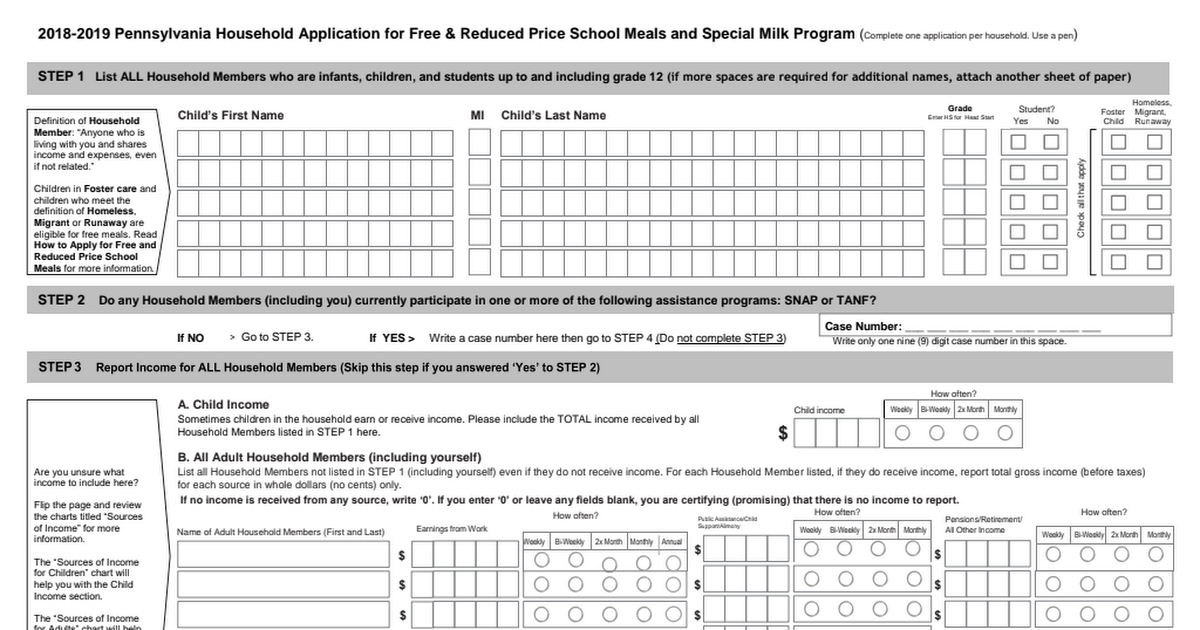 Free and Reduced Lunch Form 2018-2019.pdf
