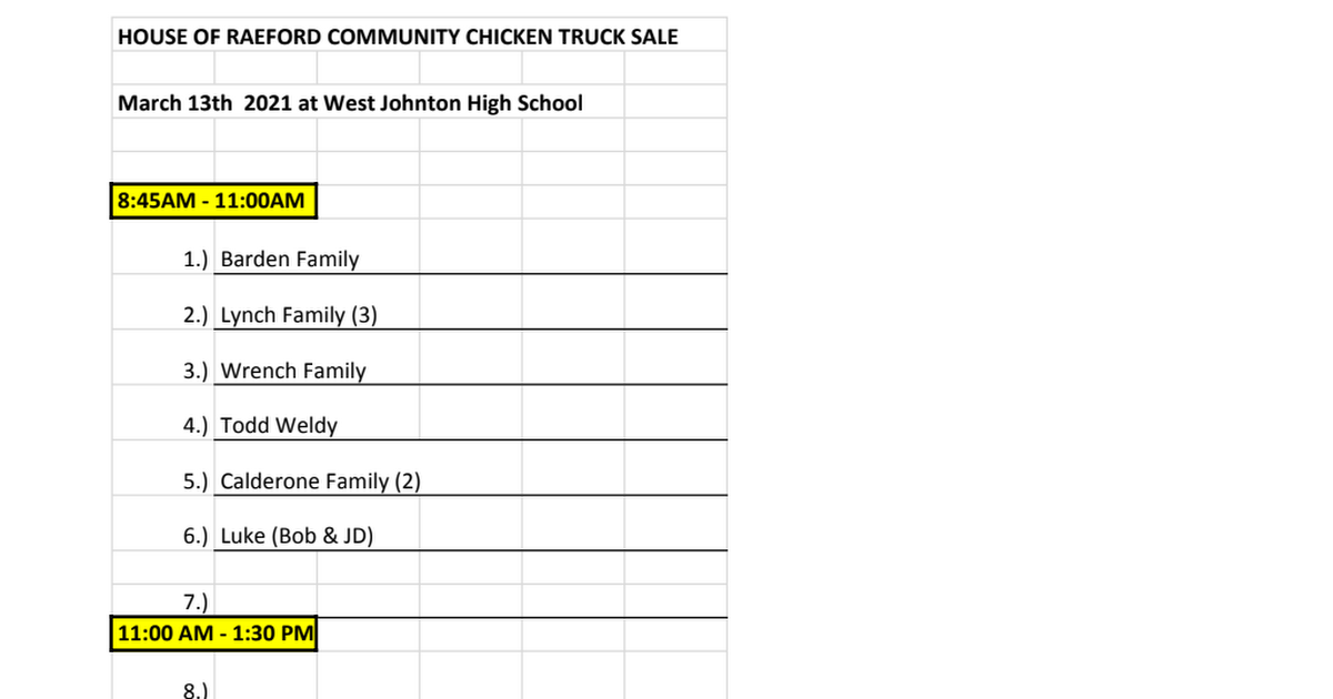 West Johnston HS BPA Chicken Sale Volunteer Sign up List.xlsx