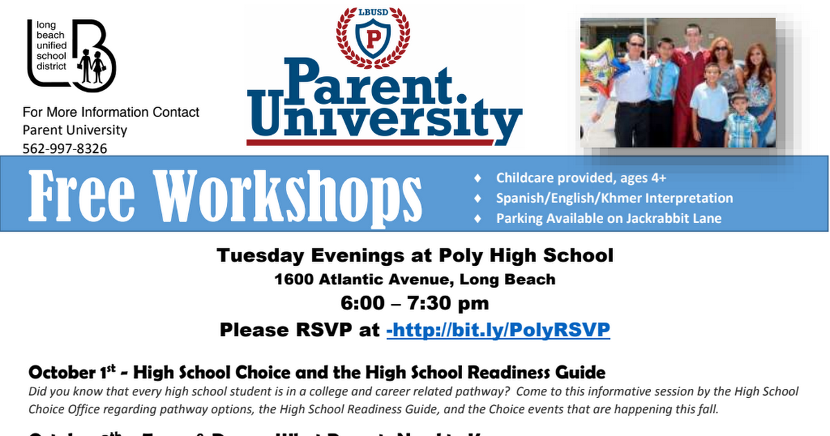 Parent University Information.pdf