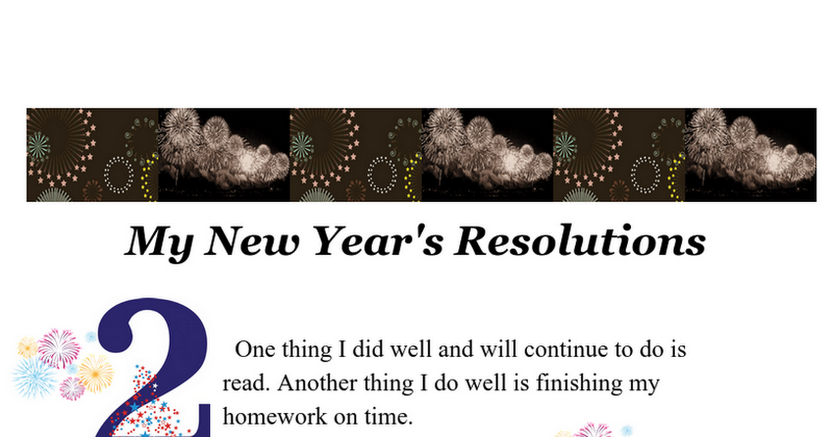 Growth Mindset: New Year's Resolutions