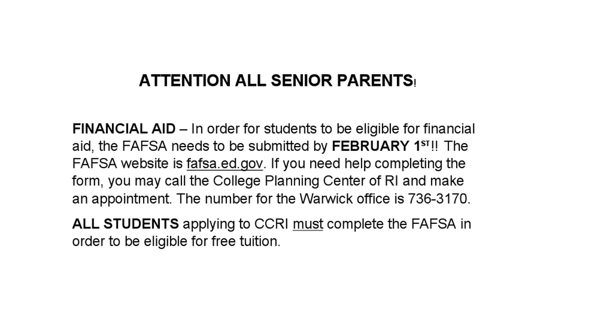 ATTENTION ALL SENIOR PARENTS.docx