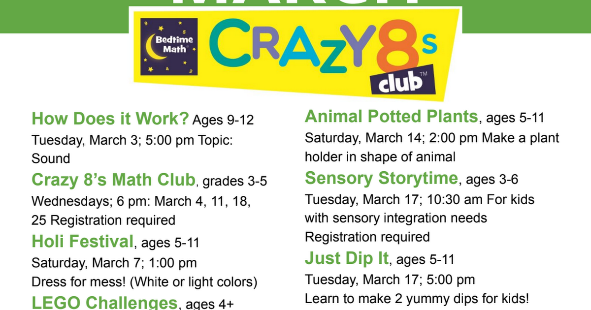 March Suwanee Public Library Events.pdf