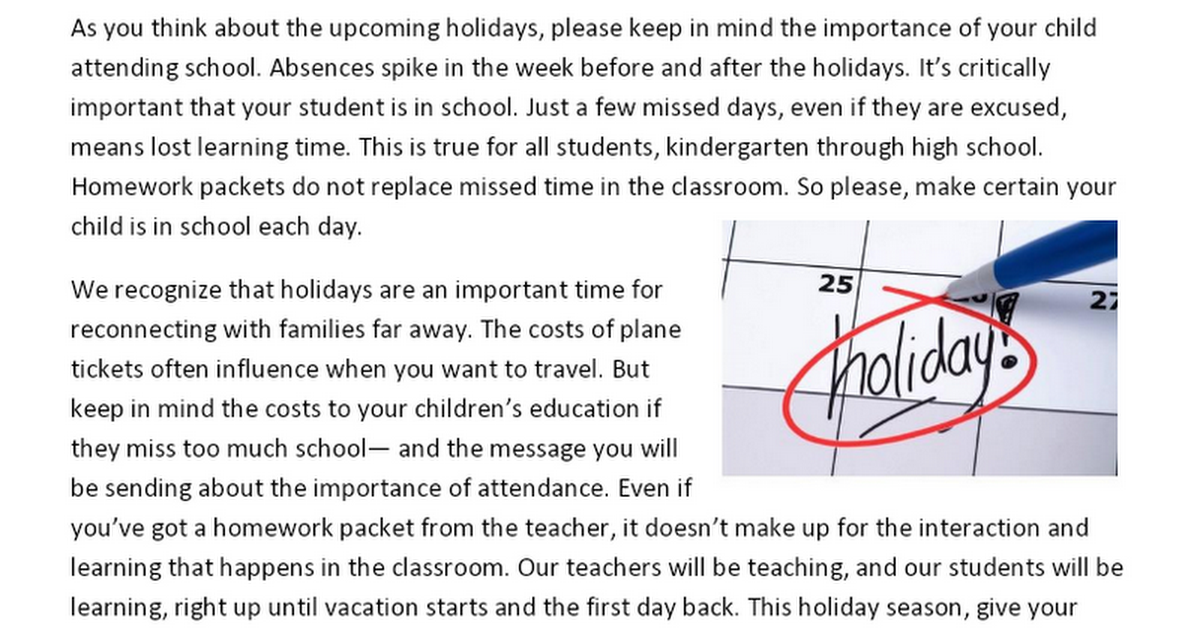 Holiday Themed Attendance Letter.docx