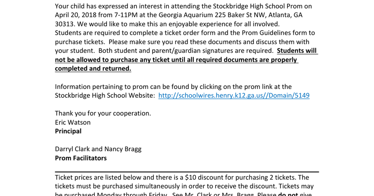 Prom 2018 Information Packet (1).doc