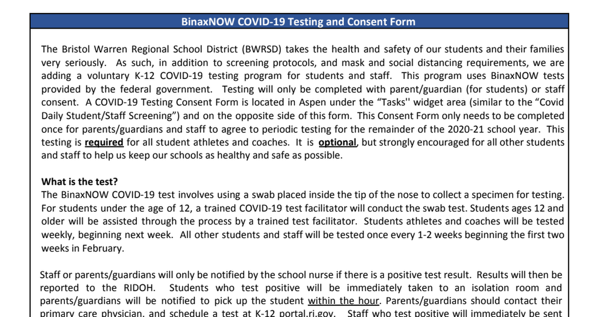 BWRSD Binax Testing and Student Consent Form.pdf