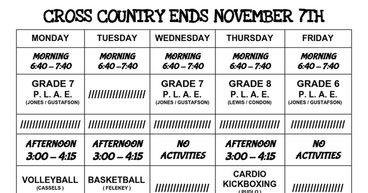 2016-17 November-December Intramural Menu & Descriptions