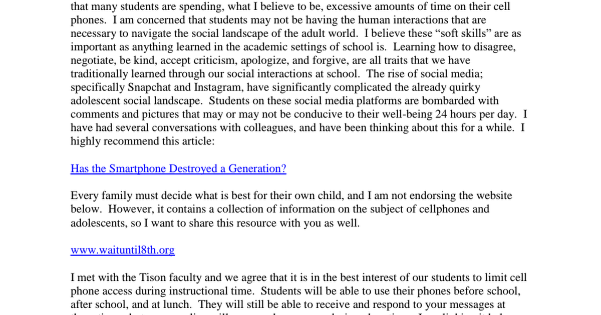 Tison Phone Policy Letter.pdf