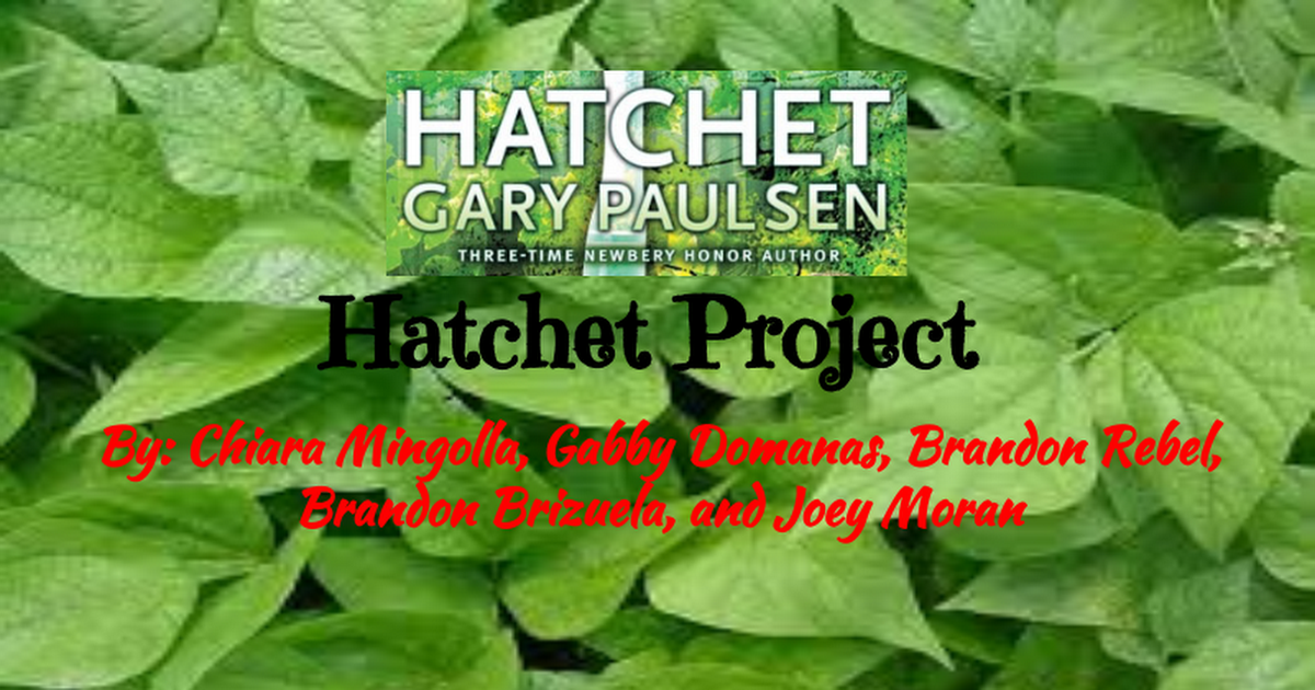 Hatchet Project