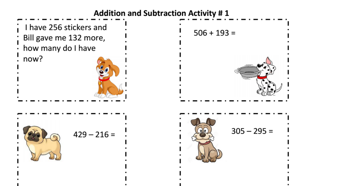 puppy addition and subtraction.pptx