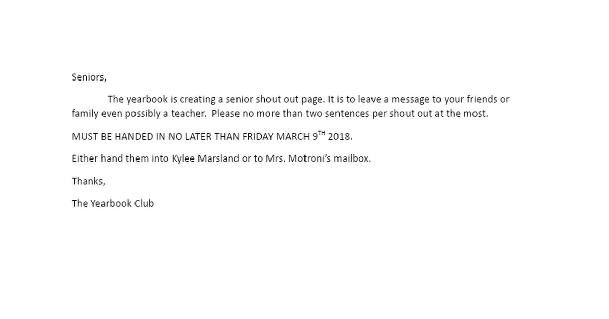 senior shout out page.docx