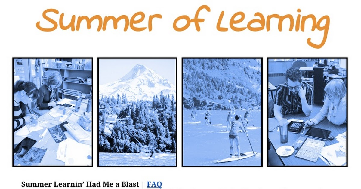 Hood River Academy Summer of Learning