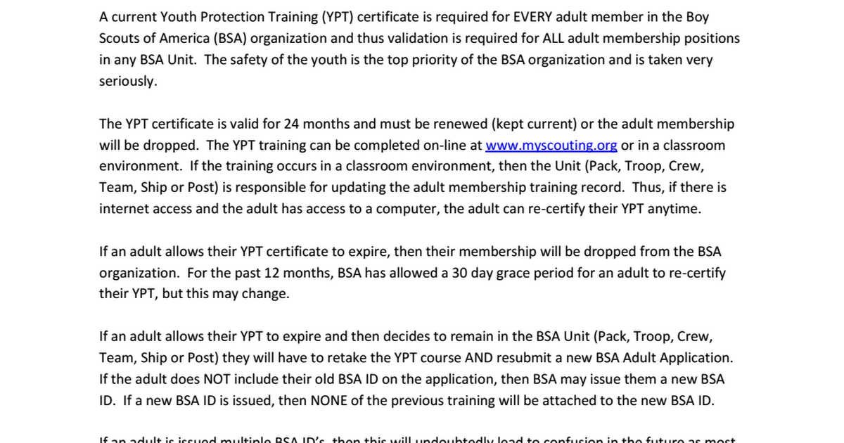 Youth Protection Training - Reminder.pdf