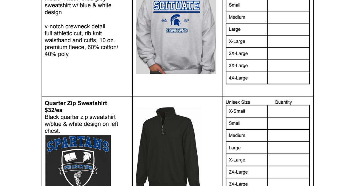 Spartan Gear Fall 2018 Order Form.pdf