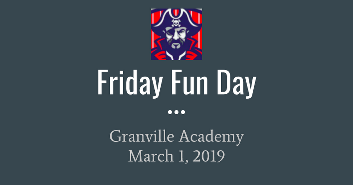 Friday Fun Day: Bowling 2019