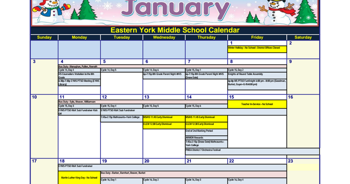 Eastern York Middle School Calendar Jan. 2016.pdf