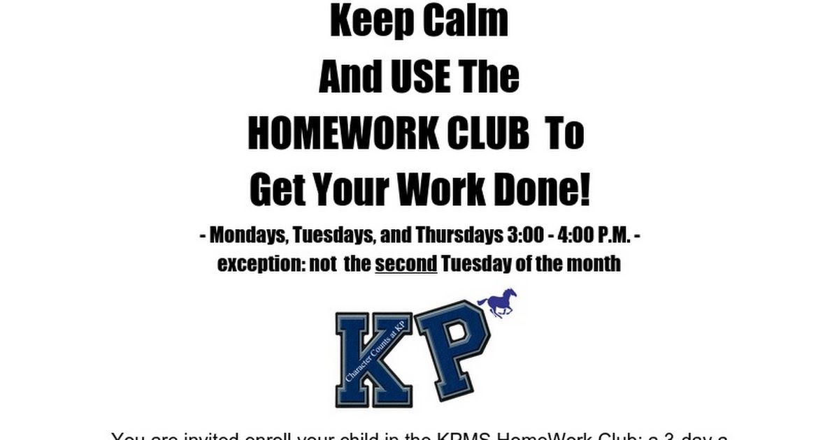 HWC Home Work Club Family Information