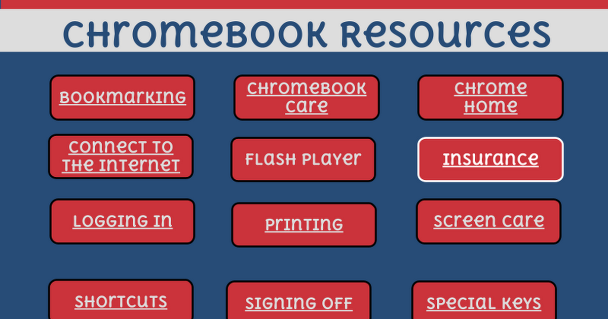 FES Chromebook Resources
