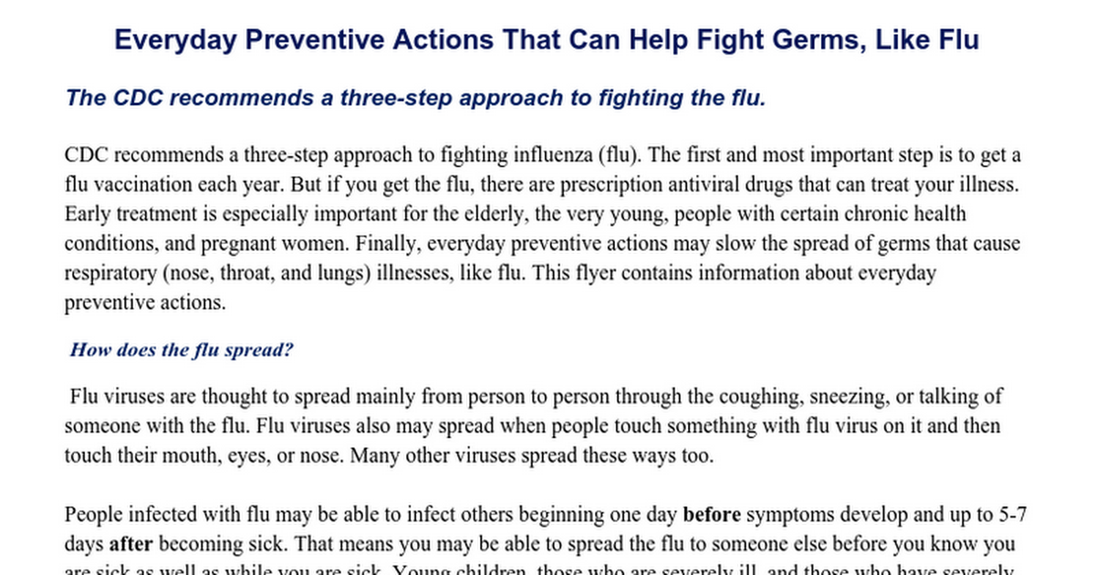 Flu--CDC Tips--Everyday Preventive Actions That Can Help Fight Germs (1).docx