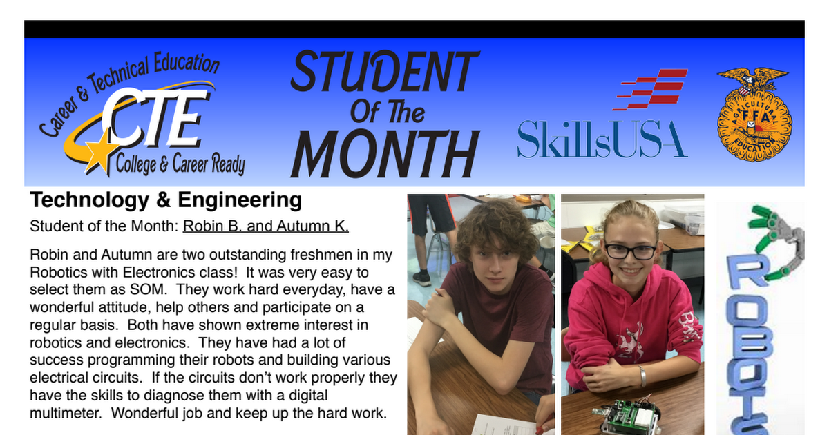 CTE Student of the Month Oct 2018.pdf