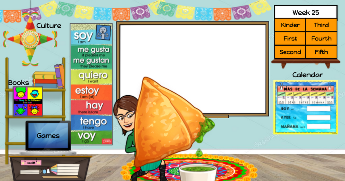 Origional Virtual Spanish Classroom