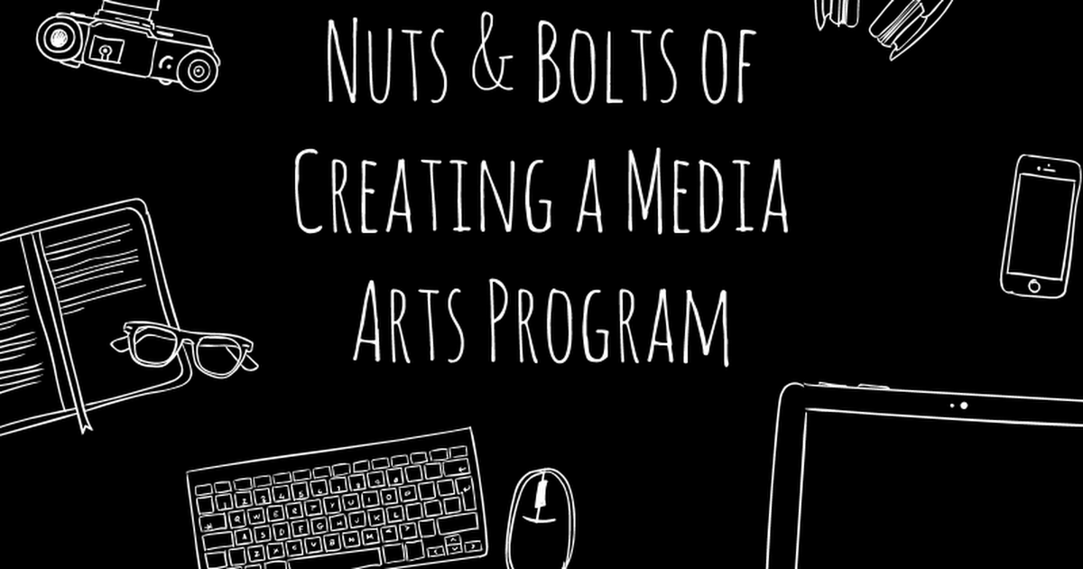 TIES Conference: Media Arts Start Up